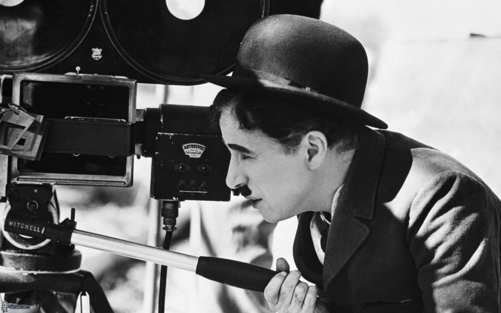Charlie Chapman hinter der Kamera