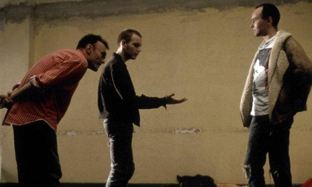 Auf dem Set: Danny Boyle, Ewan McGregor, Irvine Welsh