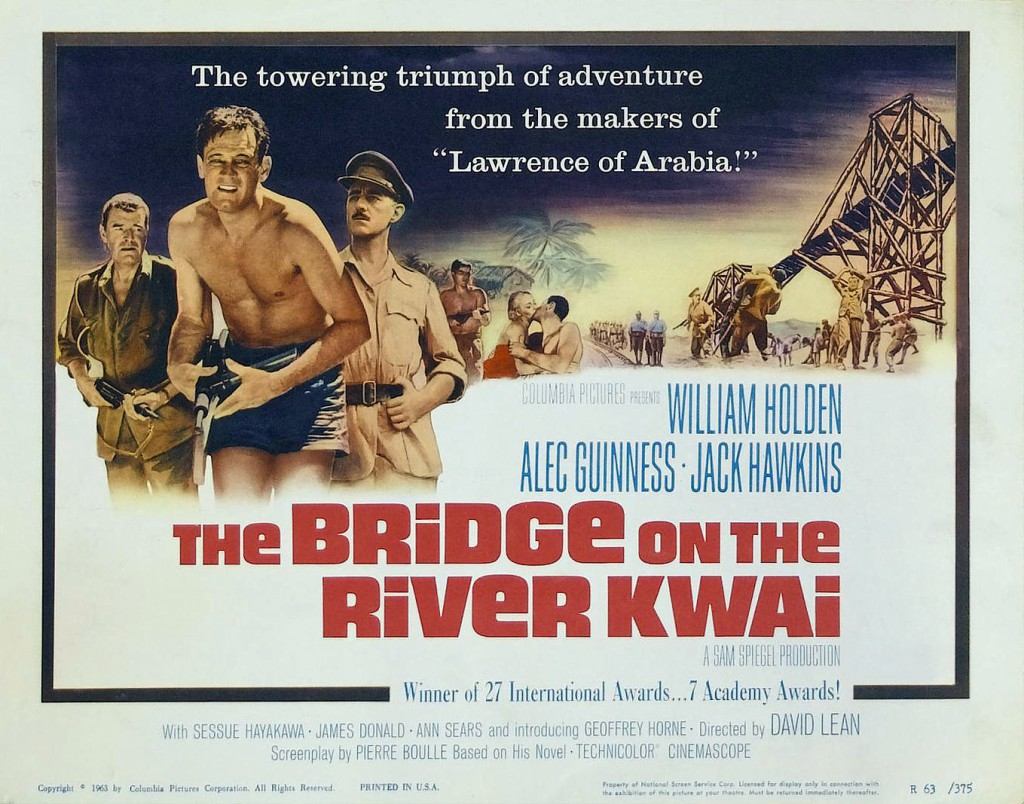 Poster - Bridge on the River Kwai, The_02