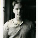 Matt Damon. Gus Van Sant, Polaroïds, 1983-1999 © Gus Van Sant.